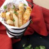 Baked Turnip Fries with Miso Butter