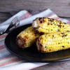Grilled Corn with Cilantro Butter