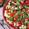 Southwest Salad with Chipotle Dressing