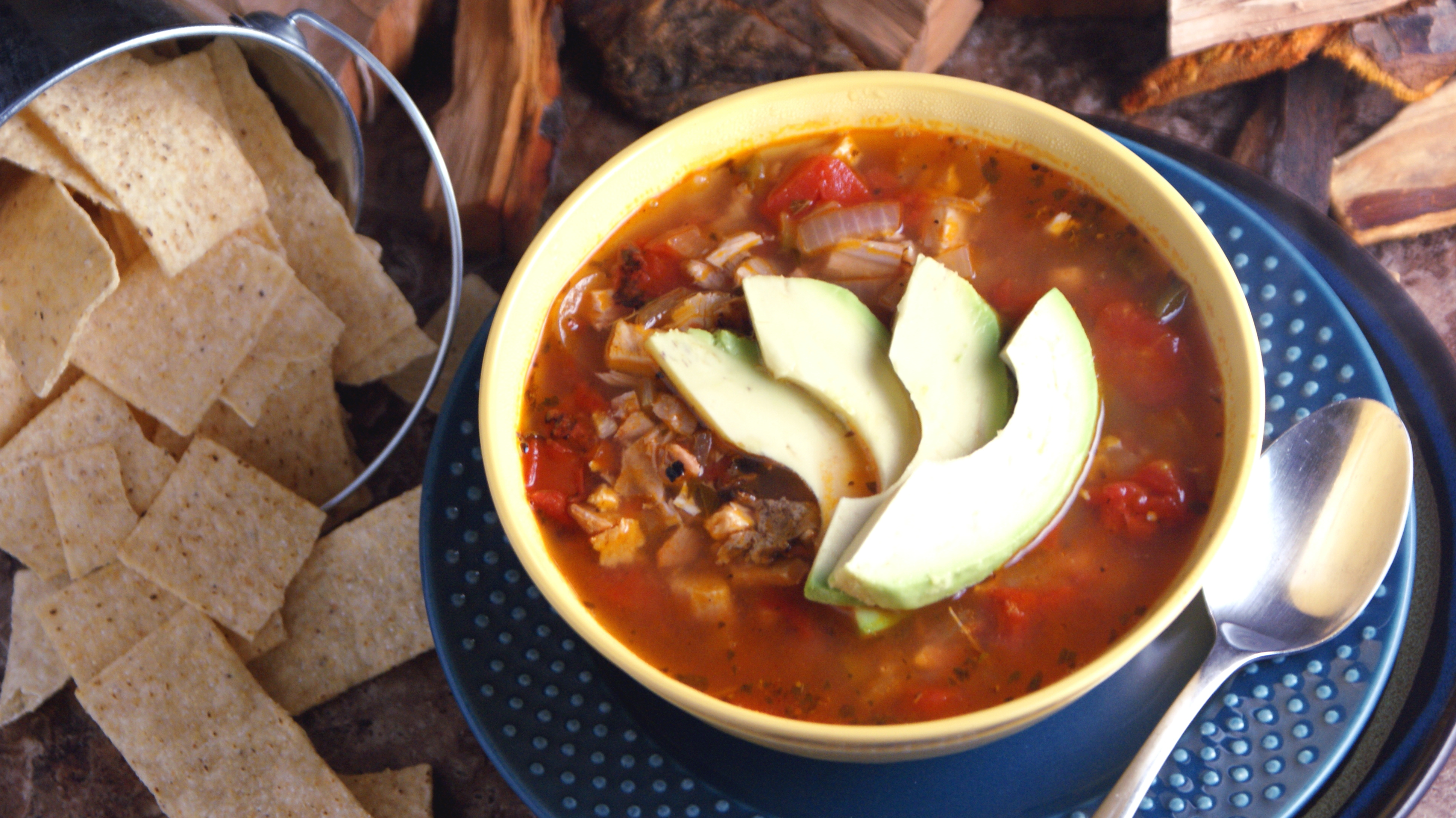 Turkey Tortilla Soup - Cooking Up Clean