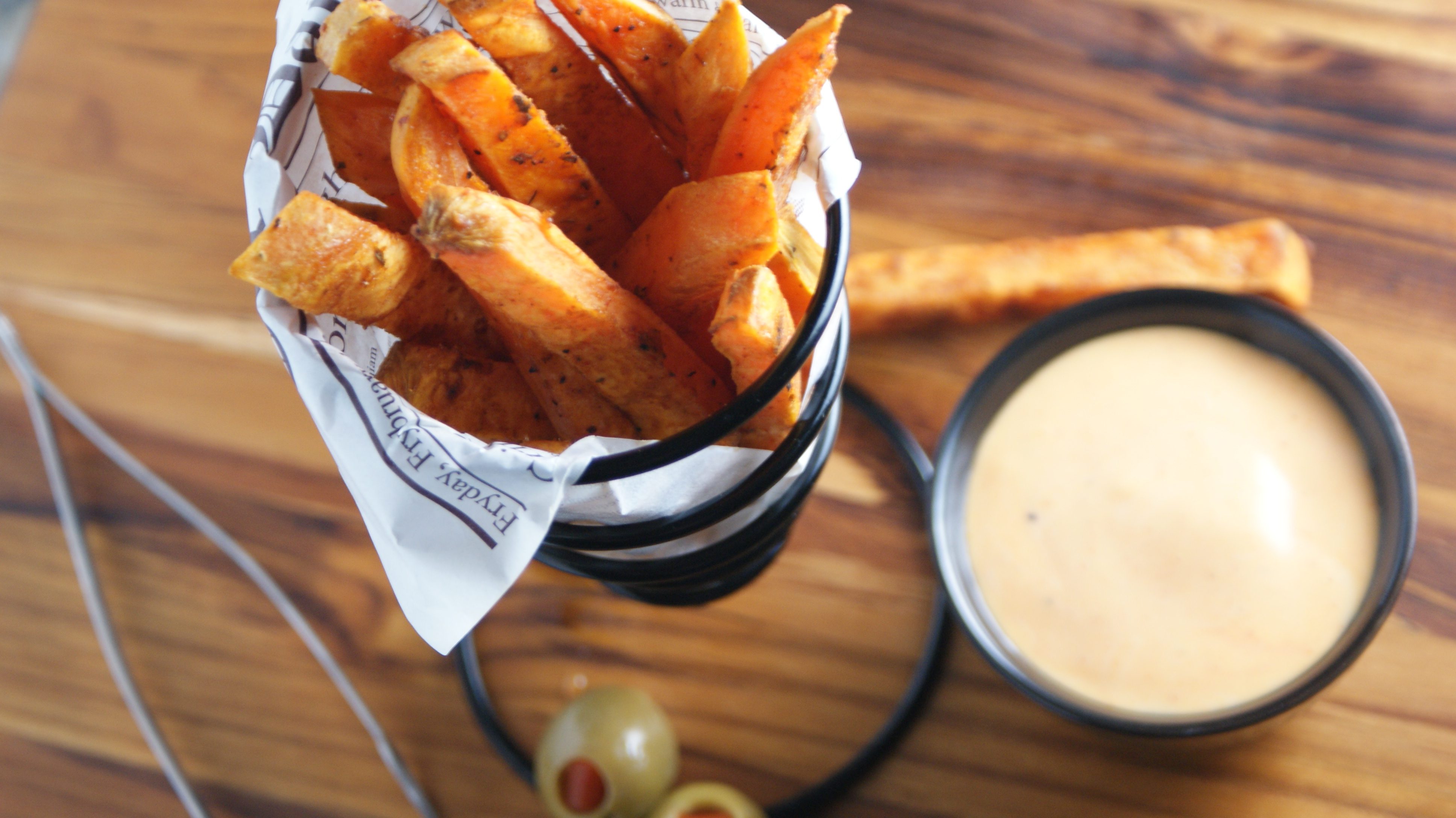 Baked Sweet Potato Fries - Cooking Up Clean
