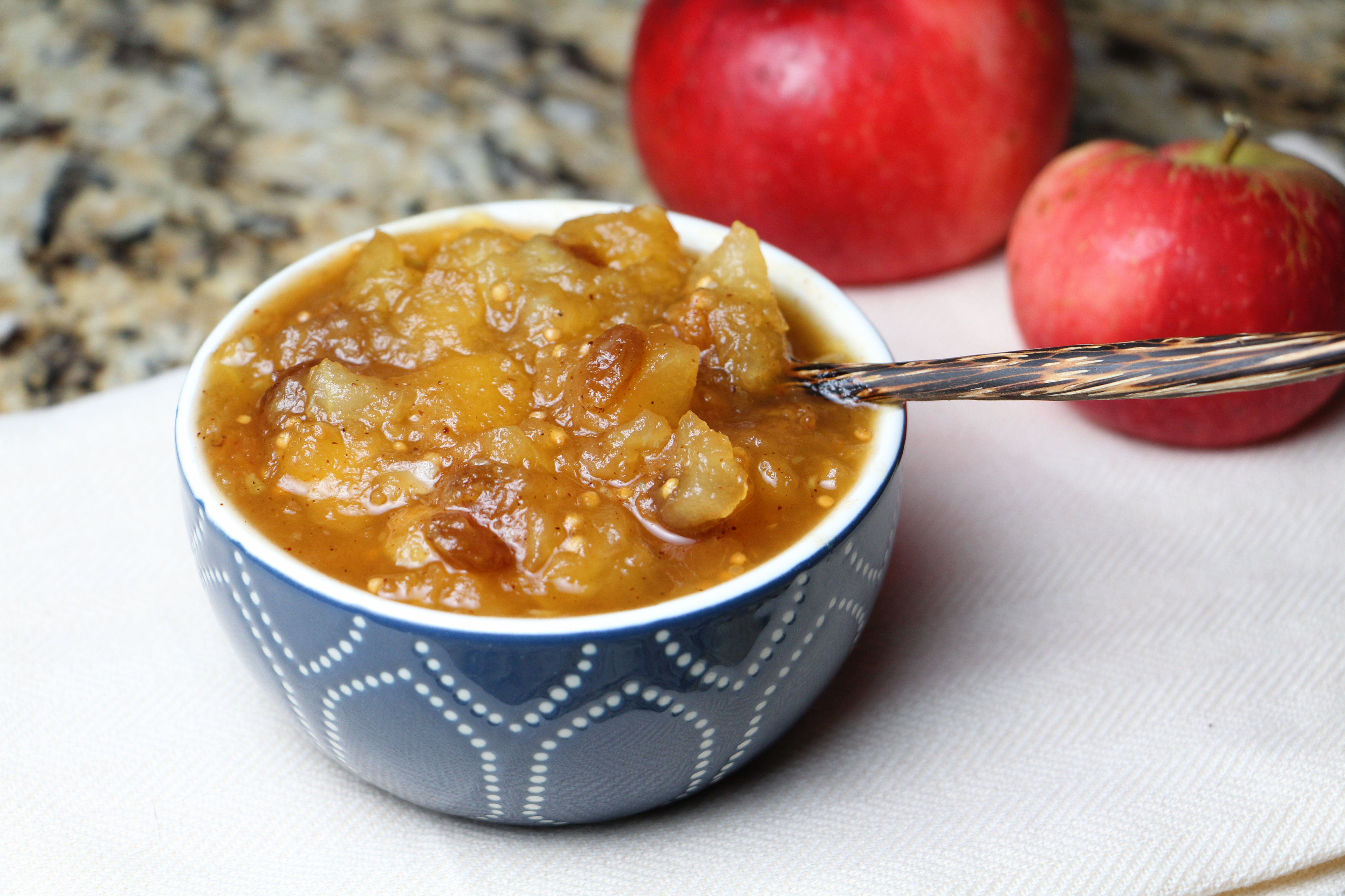Apple Chutney - Cooking Up Clean